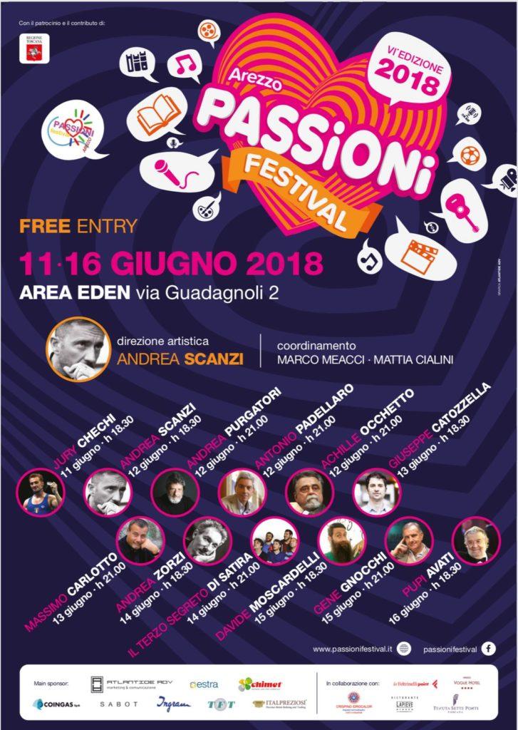 Passioni Estate 2018